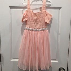 Sequin Hearts Girls Dress, size 12
